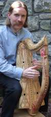 Early Gaelic Harp